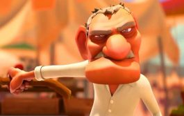 انیمیشن جنگجو ، دعوا سر یک گلابی