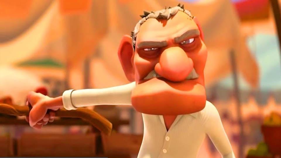 انیمیشن جنگجو
