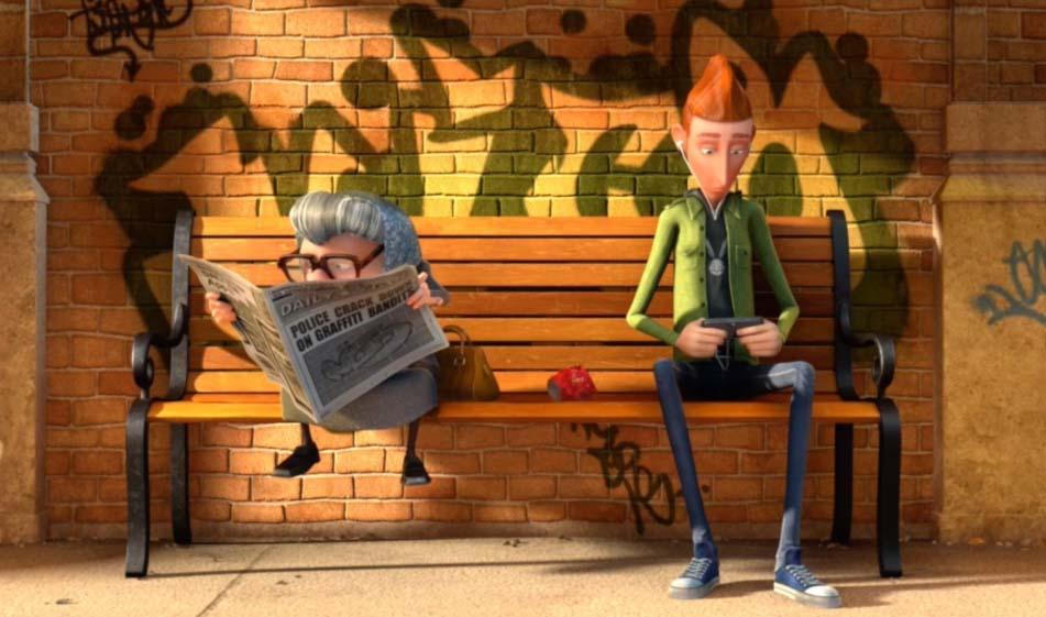 انیمیشن دعوای خوراکی