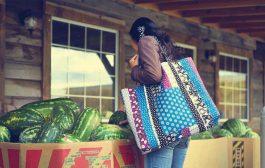 آموزش دوخت کیف بزرگ شیک و پرکاربرد