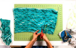 آموزش تبدیل روسری به پیراهن زنانه ، روش خلاقانه