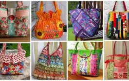 آموزش دوخت کیف پارچه ای زنانه با طراحی خلاقانه